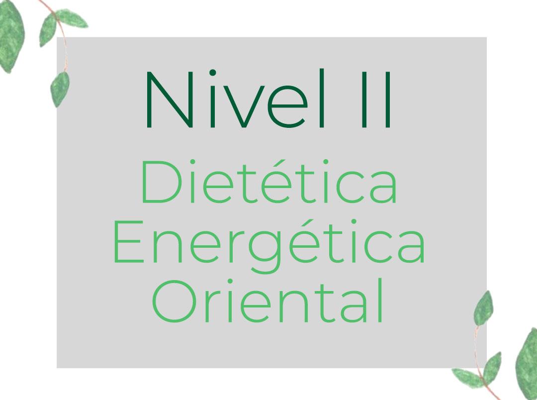 Dietética Energética Oriental