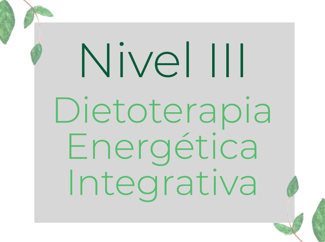Dietoterapia Energética Integrativa
